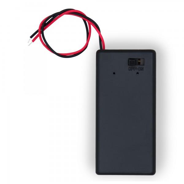 Batteriehalter für Überlaufschutz Warnmelder
